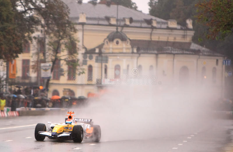 F1 royalty-vrije stock foto