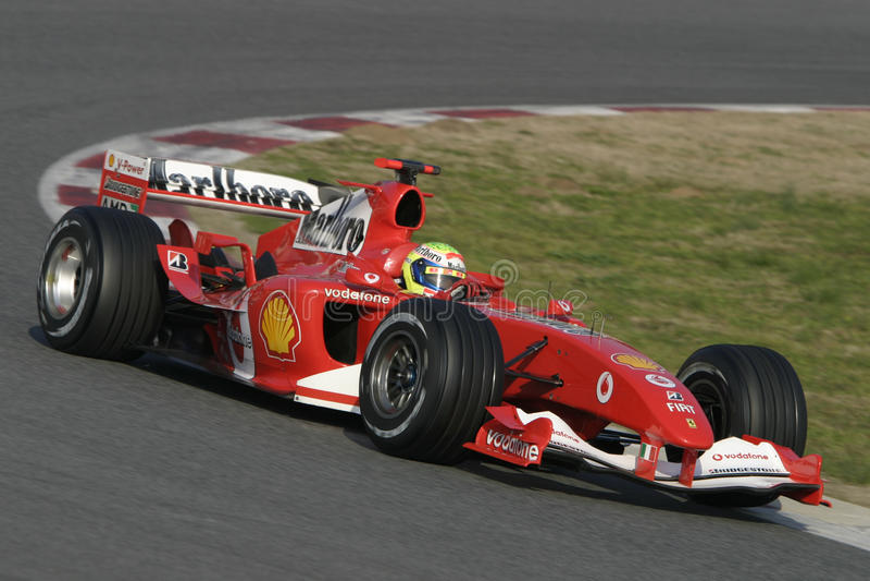 F1 2006 - Felipe Massa Ferrari imagenes de archivo