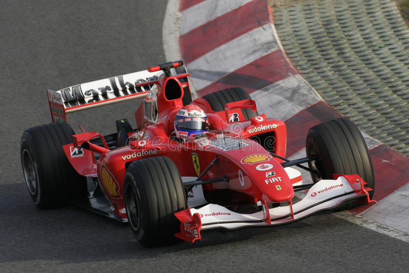 F1 2006 - Gene Ferrari de Marc fotos de archivo