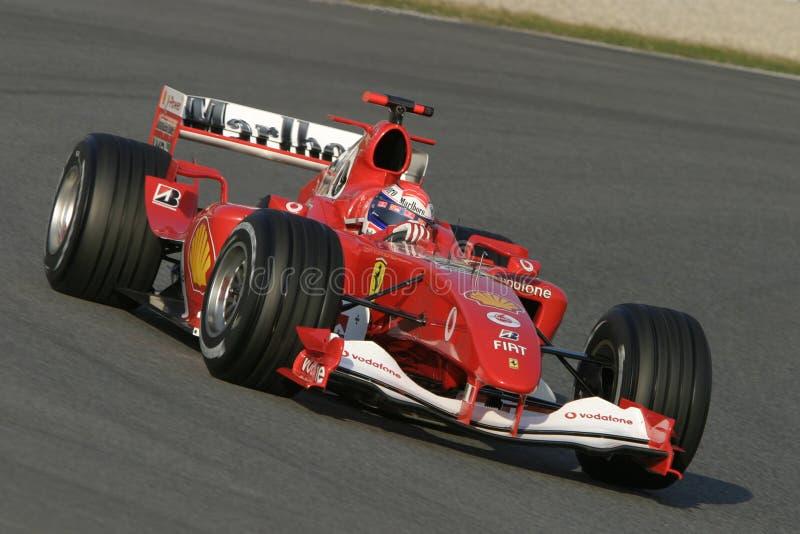 F1 2006 - Marc gen Ferrari arkivbild