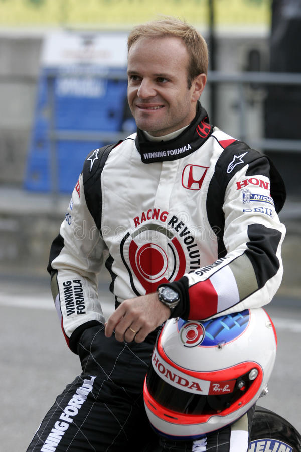 Free F1 2006 - Rubens Barrichello Honda Stock Image - 10733131