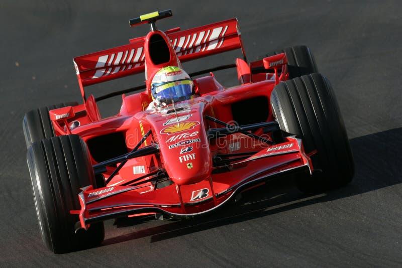 F1 2007 - Felipe Massa Ferrari stock foto