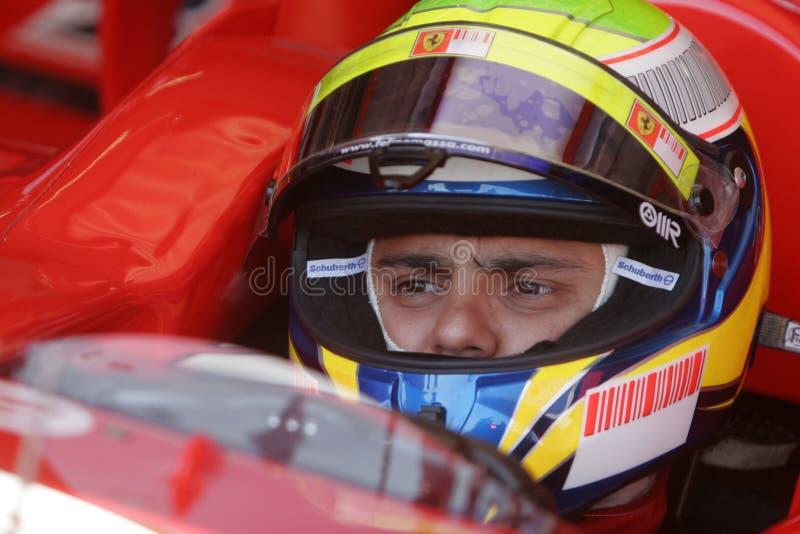 F1 2007 - Felipe Massa Ferrari imagens de stock royalty free