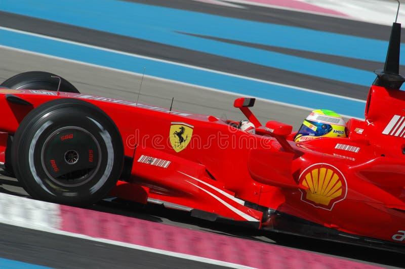 F1 2007 - Felipe Massa Ferrari fotografia de stock royalty free