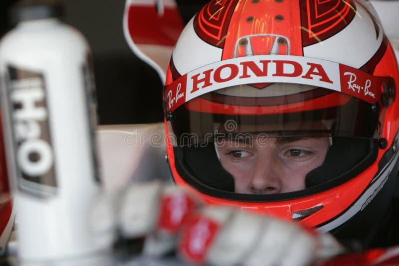 F1 2007 - James Rossiter superAguri royaltyfri fotografi