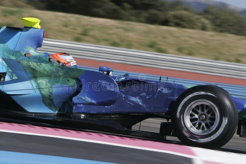 F1 2007 - Klien cristão Honda imagens de stock