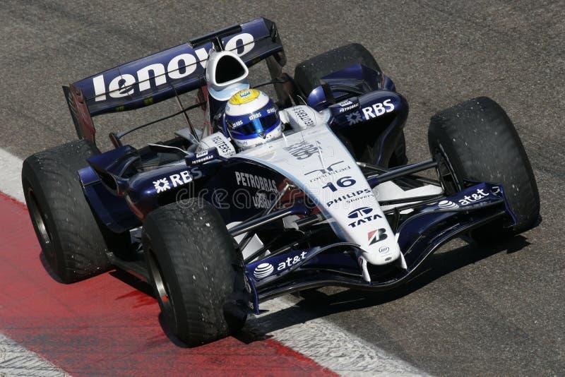 F1 2007 - Nico Rosberg Williams foto de archivo libre de regalías