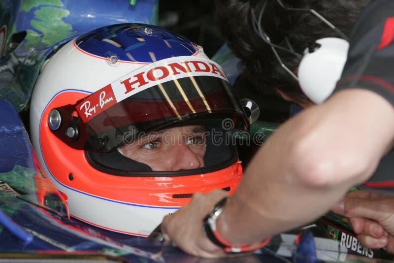 F1 2007 - Rubens Barrichello Honda foto de stock