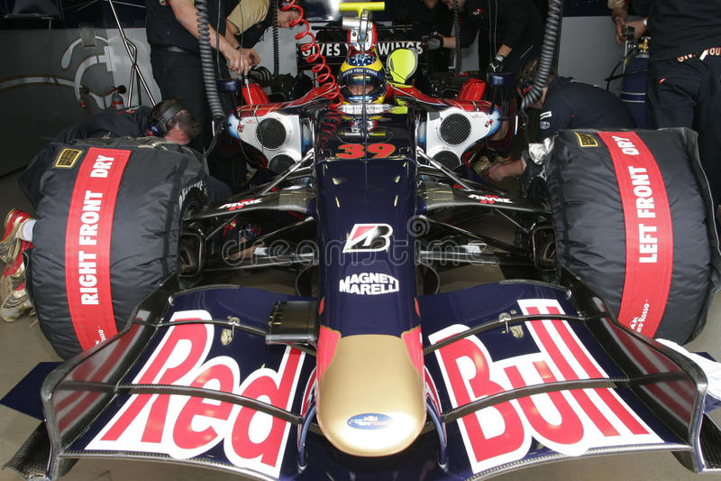 Download F1 2007 - Sebastien Bourdais Toro Rosso Editorial Photo - Image: 10772456