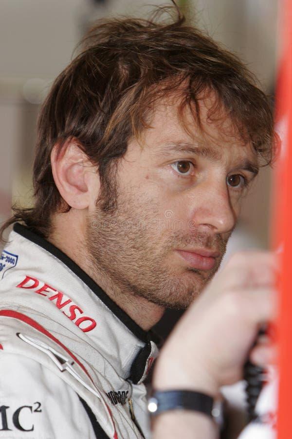F1 2008 - Jarno Trulli Toyota foto de stock