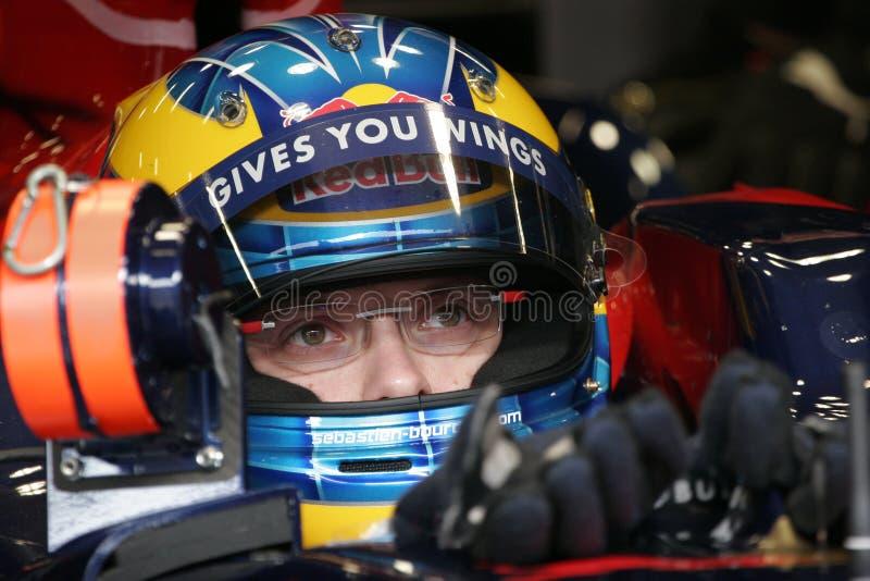 Download F1 2008 - Sebastien Bourdais Toro Rosso Editorial Stock Photo - Image: 10660413
