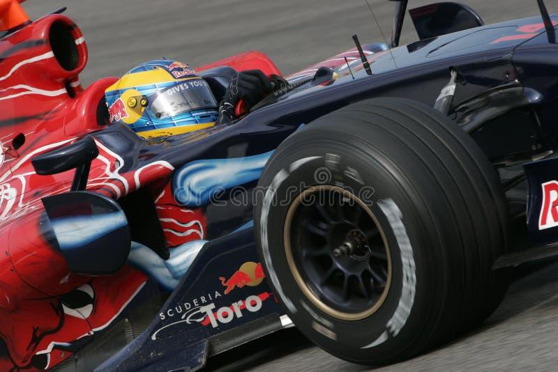 Download F1 2008 - Sebastien Bourdais Toro Rosso Editorial Stock Photo - Image: 10673333