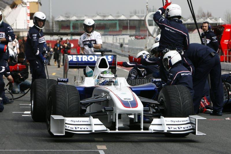 Download F1 2009 - Nick Heidfeld BMW Sauber Editorial Photo - Image: 10633806