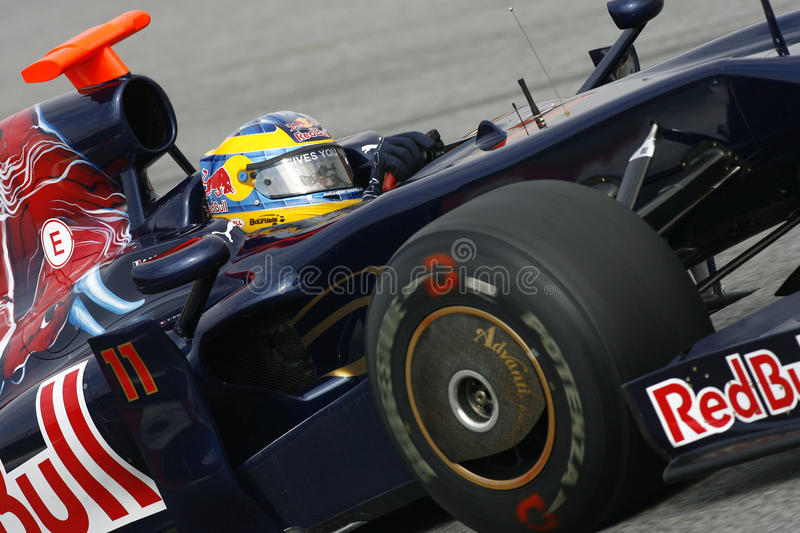 Download F1 2009 - Sebastien Bourdais Toro Rosso Editorial Photo - Image of rosso, 2009: 10633781