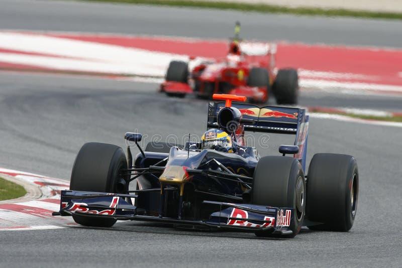 Download F1 2009 - Sebastien Bourdais Toro Rosso Editorial Image - Image: 10633855