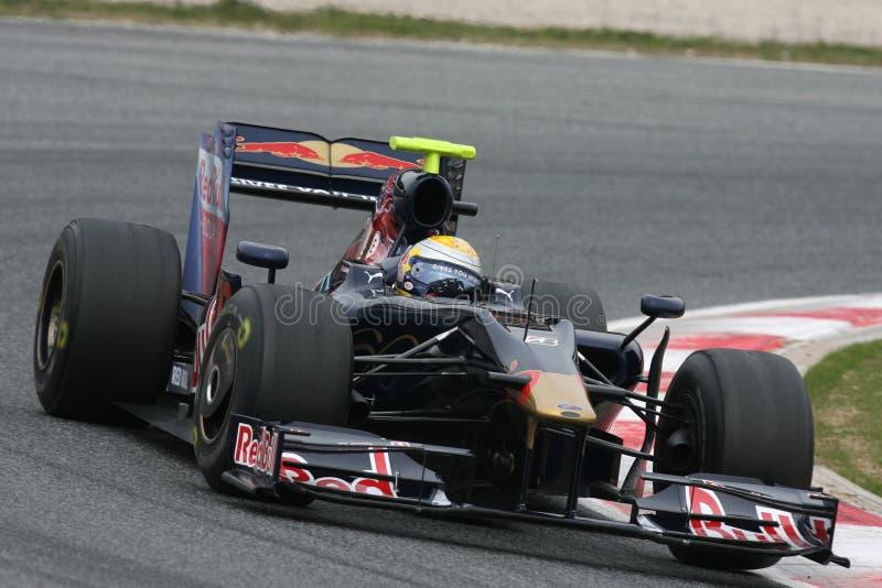 Download F1 2009 - Sebastien Buemi Toro Rosso Editorial Stock Photo - Image: 10820698