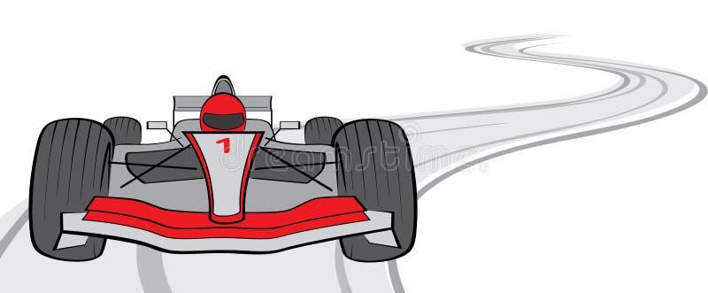 F1 vektor illustrationer