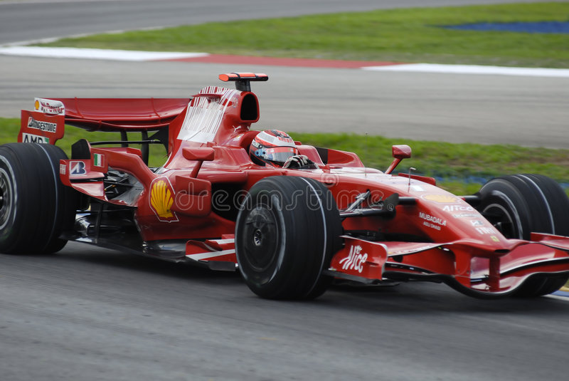 F1 royalty free stock photography