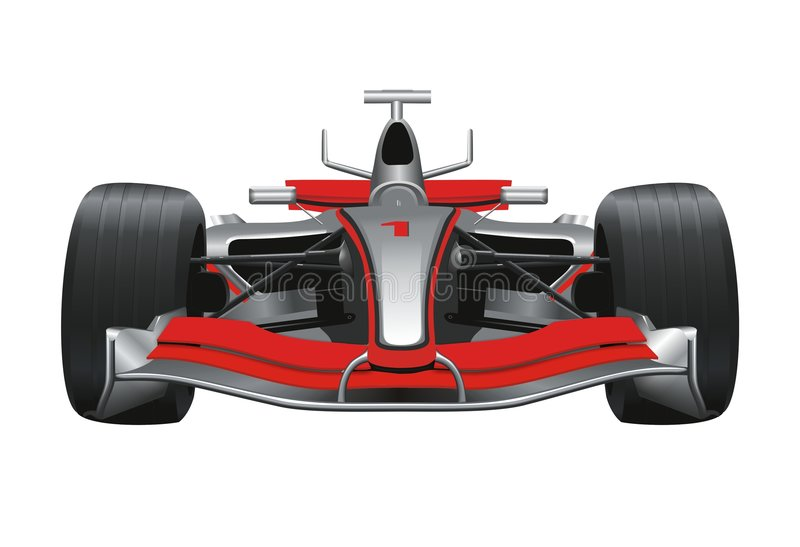 f1 vektor illustrationer