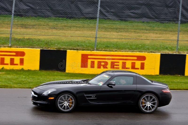 F1 de Autorennen van de Veiligheid bij de Grand Prix van Montreal stock fotografie