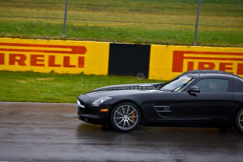 F1 de Autorennen van de Veiligheid bij de Grand Prix van Montreal royalty-vrije stock afbeeldingen