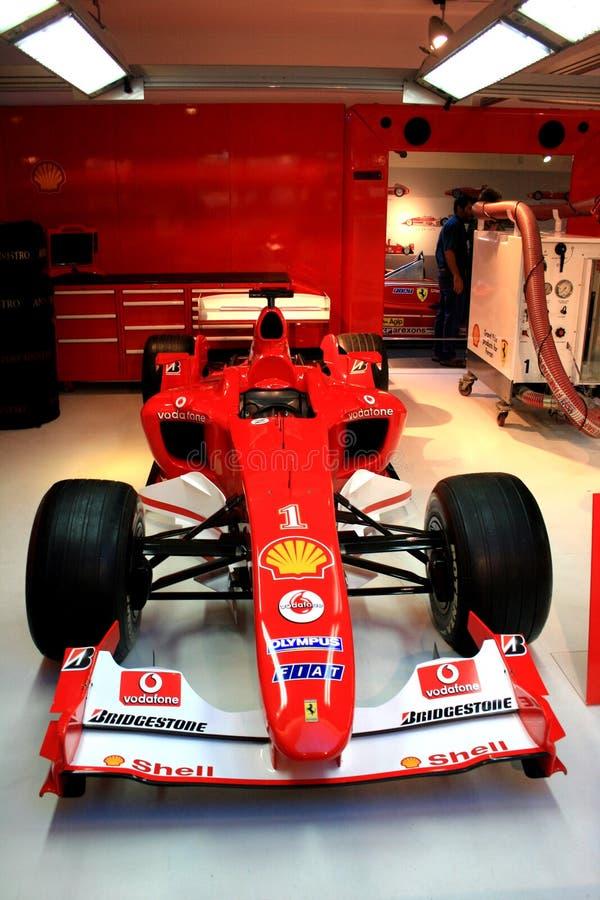 F1 Ferrari at Maranello royalty free stock images