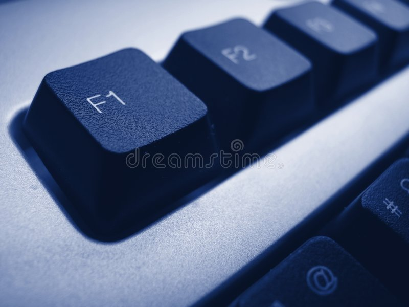Download F1 - help stock image. Image of operating, computer, symbols - 1397813
