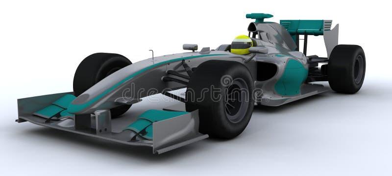 F1 Raceauto vector illustratie