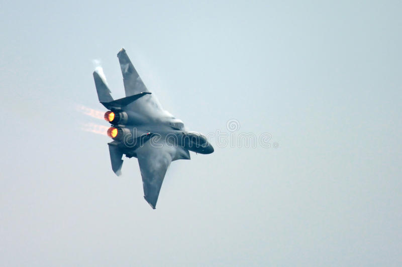 F15 Eagle Fighter Jet royalty free stock photography