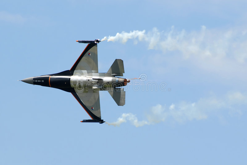 Download F16 stock photo. Image of clouds, aerobatic, fighting - 2775514