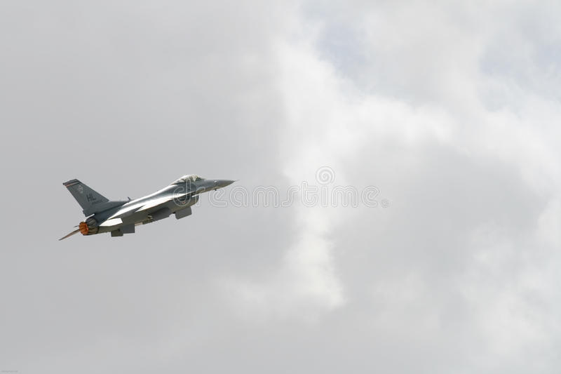 F16 High in the Sky stock images