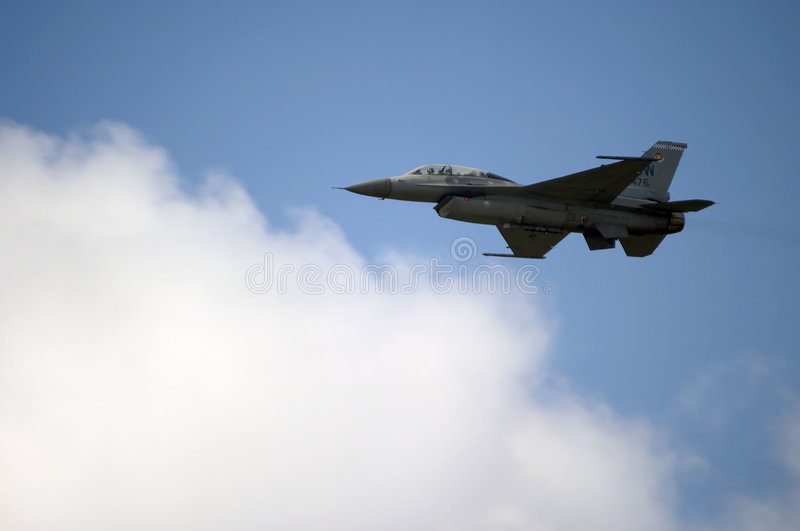 Download F16 Jet stock photo. Image of roar, airplane, sound, defense - 211116