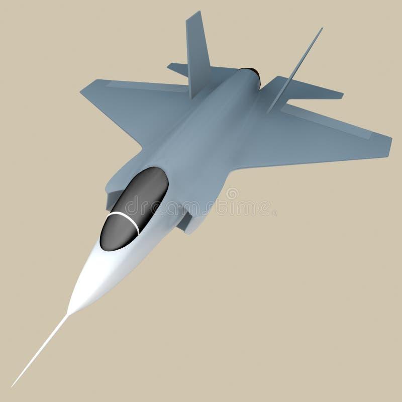 F35/x35 vechter vector illustratie