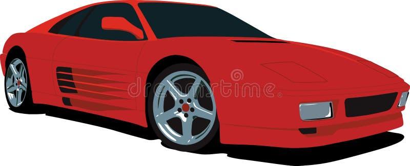 f355 Ferrari royalty ilustracja