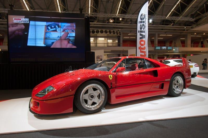 f40 Ferrari obraz stock