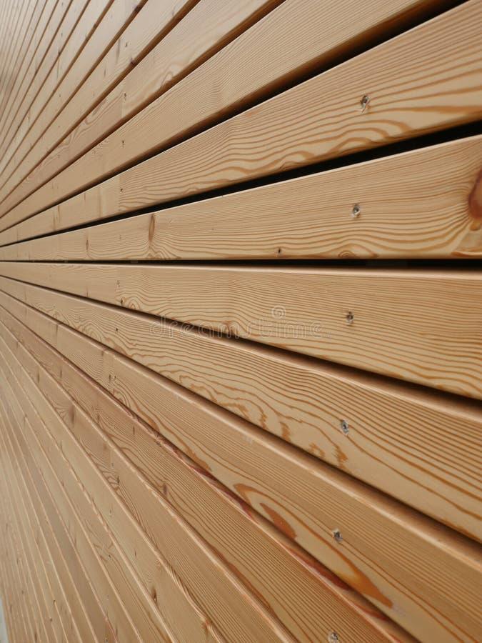 Façade de madeira imagens de stock