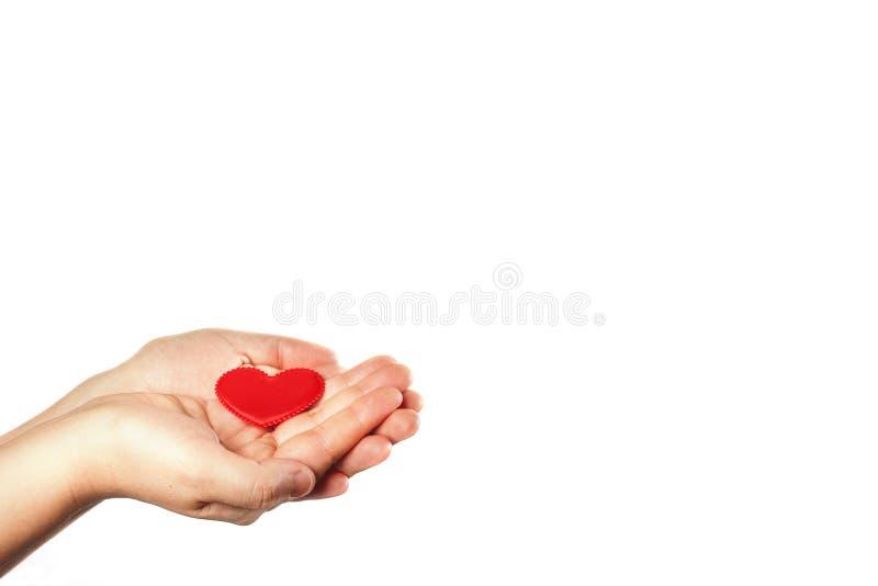 Faça boas coisas Crie ações boas Caridade e milagre Para fazer povos felizes A instituição de caridade Mão amiga Dê o amor imagens de stock