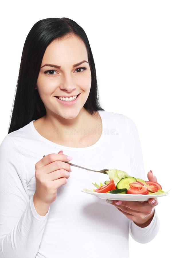 Faça dieta a salada fotos de stock
