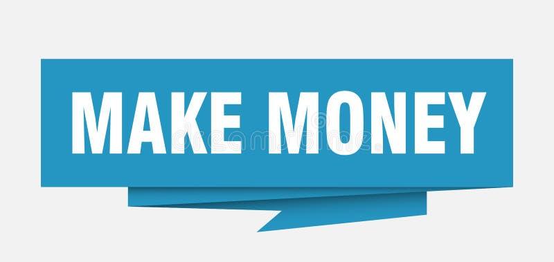 Faça o dinheiro ilustração do vetor