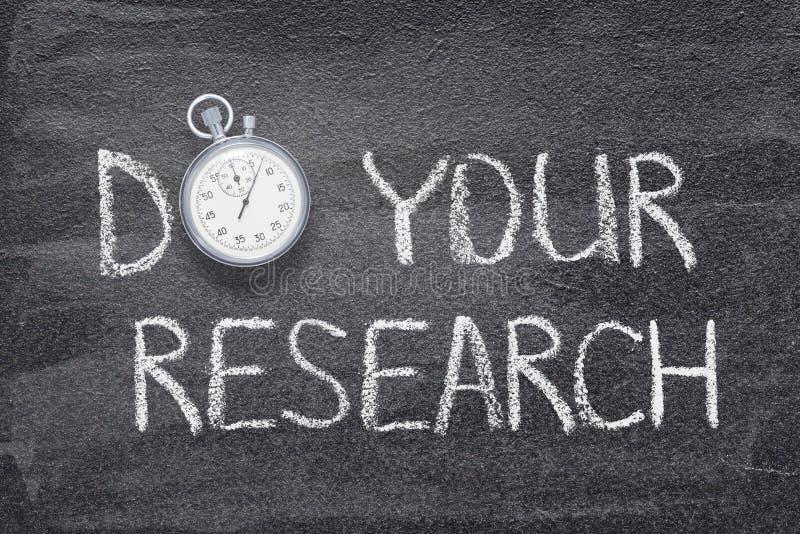 Faça seu relógio da pesquisa fotos de stock