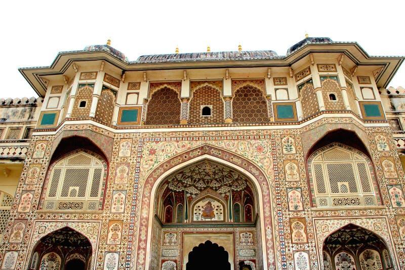 Façade d'Amer Palace photos libres de droits