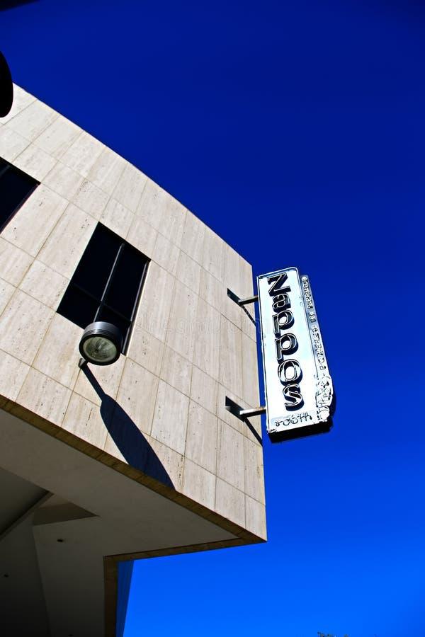 Façade d'Hôtel de Ville de Las Vegas Maintenant possédé par le détaillant en ligne Zappos photographie stock