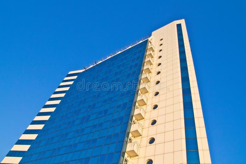 Façade d'hôtel Odessa photographie stock