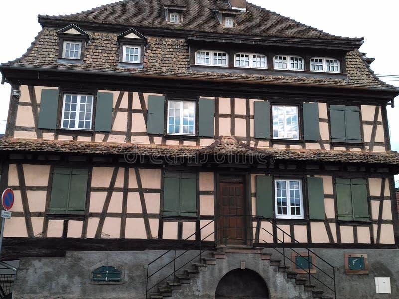 façade de 12 67 5000 01 Alsace photographie stock libre de droits