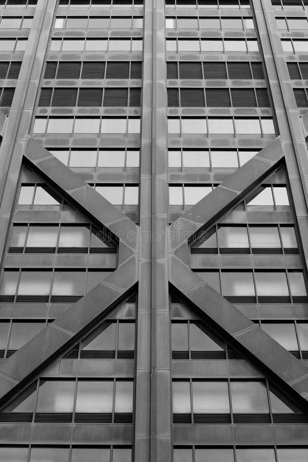 Façade de construction photographie stock