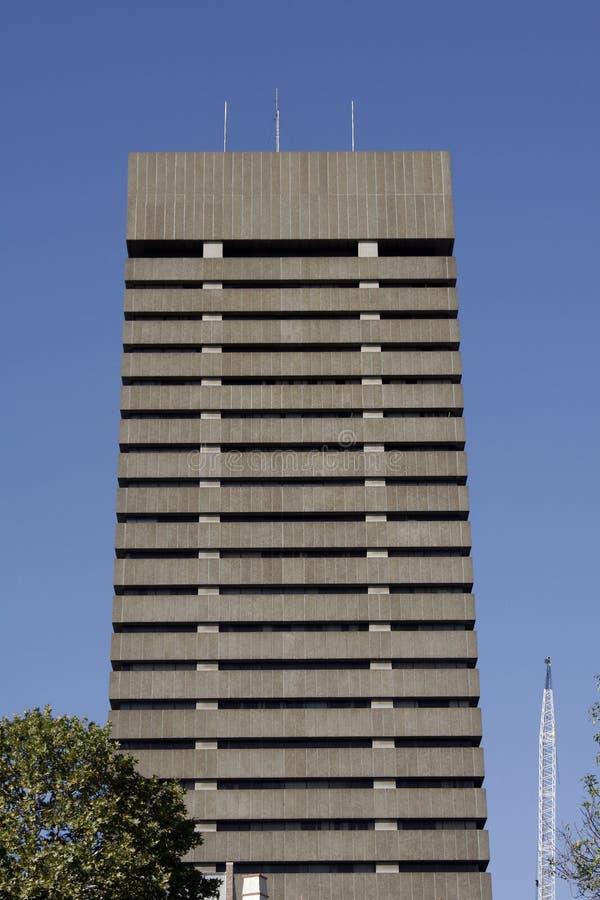 façade de construction urbaine image libre de droits