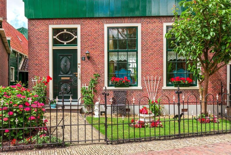 Façade de maison néerlandaise photo stock