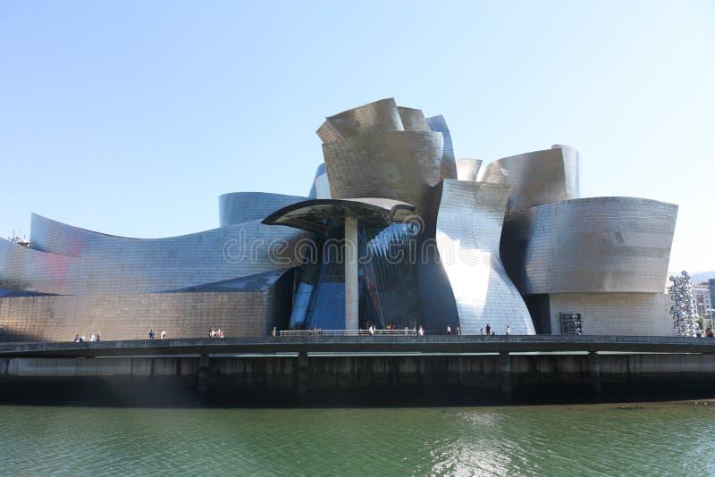 Musée de Guggenheim, Bilbao en Espagne photo stock