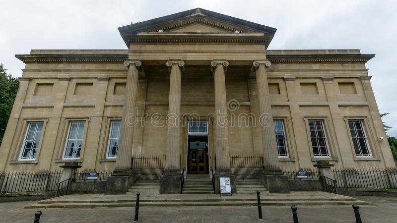 Façade de musée de Swansea image libre de droits
