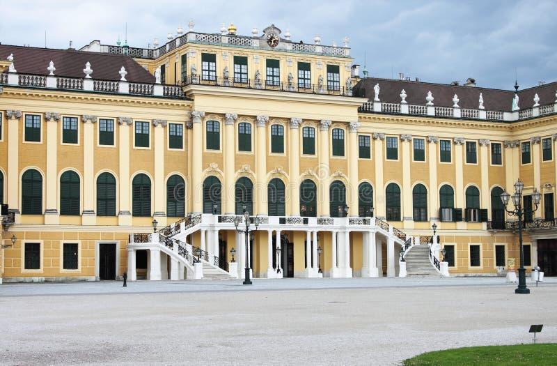 Façade de palais de Schonbrunn image libre de droits